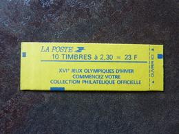 1989 Marianne De Briat 2,30F Rouge Y&T= 2614-C7  Conf.9  PARFAIT ETAT ** MNH - Carnets