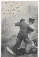 La Pêche à La Ligne (BERGERET) - Couples