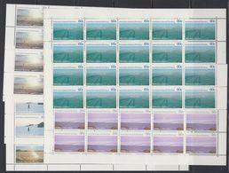 AAT 1987 Landscapes 5v 20x ** Mnh (F7564) - Australisch Antarctisch Territorium (AAT)