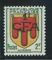 REUNION CFA: *, N° YT 287, 1ère Ch., TB - Reunion Island (1852-1975)