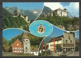 LIECHTENSTEIN Schloss Vaduz Sent From Germany 2000 With German Stamp - Liechtenstein