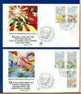 VATICANO - FDC  1986 - FDC FILAGRANO  - ANNO INTERNAZIONALE DELLA PACE - FDC