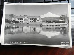 19212) CHILE SANTIAGO HOTEL PUCON NON VIAGGIATA OTTIMO STATO - Cile