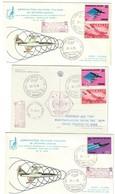 Aereonautica Militare 51 Stormo Volo Postale Supersonico Con F104 Mac73 21 09 1973 Bu.227 - 6. 1946-.. Repubblica