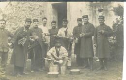 Carte Photo , Ww1 , Soldats Au Repos , Non écrite - Weltkrieg 1914-18