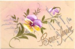 Carte Celluloid : Bonne Année - Fancy Cards