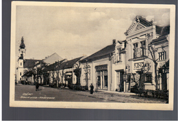 SERBIA Odžaci Glavna Ulica Hauptgasse Ca 1930 OLD PHOTO  POSTCARD 2 Scans - Serbien