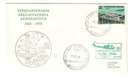 Italia 1973 Cinquantenario Accademia Aereonautica Cod.bu.228 - 6. 1946-.. Repubblica