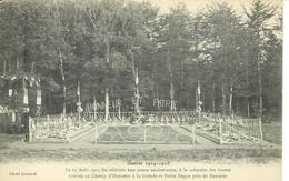 Cpa 54 Baccarat , Ww1 , Cimetière Militaire Grande Et Petite Rappe * Honneur Et Patrie * écrite 1916 * Chère Tante - Baccarat
