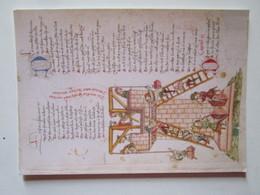 La Tour De Babel. Weltchronik De Rudolf Von Ems. Ecrit Et Illustre Par Hans Schilling De Haguenau, 1459. Colmar Ms 305 - Arts