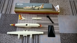 MAQUETTE NFD ATR 42 NUMBERGER FLUGDIENST (IATA) - Airplanes & Helicopters