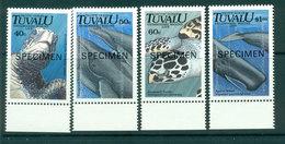 Tuvalu 1991 Marine Life SPECIMEN MUH Lot20427 - Tuvalu