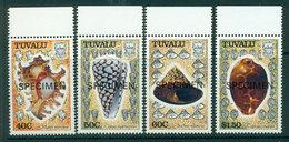 Tuvalu 1991 Shells SPECIMEN MUH Lot20417 - Tuvalu