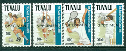 Tuvalu 1991 South Pacific Games SPECIMEN MUH Lot20421 - Tuvalu