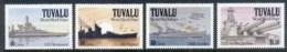 Tuvalu 1991 World War II, WWII, Ships - Tuvalu