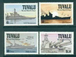 Tuvalu 1991 WWII Ships MUH Lot20388 - Tuvalu