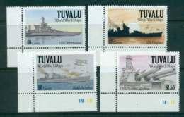 Tuvalu 1991 WWII Ships MUH Lot43550 - Tuvalu