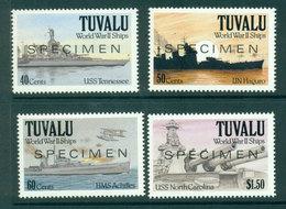 Tuvalu 1991 WWII Ships SPECIMEN MUH Lot20389 - Tuvalu