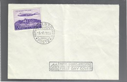 SAN MARINO 1959  VOLO SAN MARINO-RIMINI-LONDRA ALITALIA I° GIORNO DI EMISSIONE  COD Bu.229 - San Marino