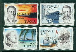Tuvalu 1992 Annexation SPECIMEN MUH Lot20423 - Tuvalu
