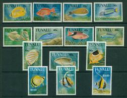 Tuvalu 1992 Fish Defins (14) MUH Lot20385 - Tuvalu