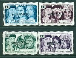 Tuvalu 1992 USA Anniv SPECIMEN MUH Lot20387 - Tuvalu