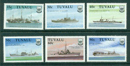 Tuvalu 1992 WWII Ships MUH Lot20413 - Tuvalu