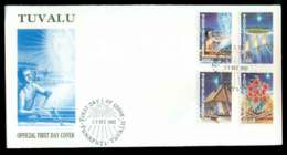 Tuvalu 1992 Xmas FDC Lot51705 - Tuvalu