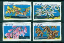Tuvalu 1995 Pacific Coastal Orchids MUH Lot81368 - Tuvalu