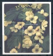 Tuvalu 1999 Flowers MS MUH - Tuvalu