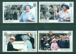 Tuvalu 1999 Queen Mother's Century, Royalty MUH - Tuvalu