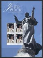 Tuvalu 2005 Pope John Paul II In Memoriam MS MUH - Tuvalu
