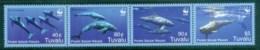 Tuvalu 2006 WWF Pygmy Killer Whale Str 4 MUH Lot76289 - Tuvalu