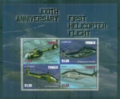 Tuvalu 2007 First Helicopter Flight $1.30 MS MUH Lot81728 - Tuvalu