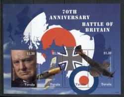 Tuvalu 2010 Battle Of Britain MS MUH - Tuvalu