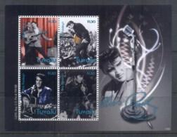 Tuvalu 2010 Elvis Presley 75th Birthday MS MUH - Tuvalu
