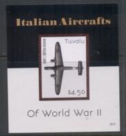 Tuvalu 2017 Italian Aircraft Of WWII MS MUH - Tuvalu