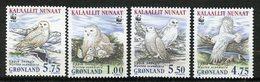 Groenland, Yvert 310/313, Scott 344/347, MNH - Groenland