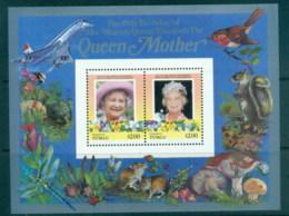 Tuvalu Funafuti 1986 Queen Mother 85th Birthday $2 MS MUH - Tuvalu