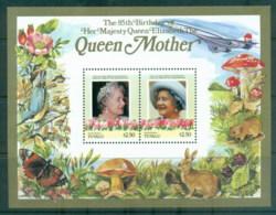 Tuvalu Nanumaga 1986 Queen Mother 85th Birthday $2.50 MS MUH - Tuvalu
