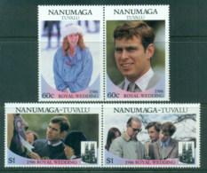 Tuvalu Nanumaga 1986 Royal Wedding, Andrew & Sarah MLH - Tuvalu