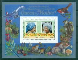 Tuvalu Nanumea 1986 Queen Mother 85th Birthday $1 MS MUH - Tuvalu