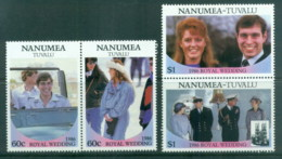 Tuvalu Nanumea 1986 Royal Wedding, Andrew & Sarah MLH - Tuvalu