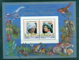 Tuvalu Niutao 1986 Queen Mother 85th Birthday $1.50 MS MUH - Tuvalu