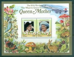 Tuvalu Niutao 1986 Queen Mother 85th Birthday $4 MS MUH - Tuvalu