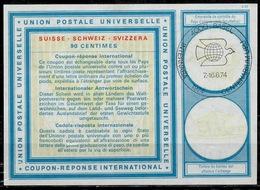 BASEL INTERNABA CENTENARIUM UPU 7.-16.6.74 During The UPU Congress 1974 International Reply Coupon Reponse Antwortschein - U.P.U.