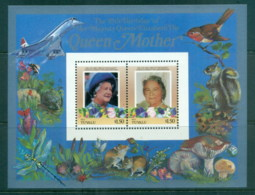 Tuvalu Nui 1986 Queen Mother 85th Birthday $1.50 MS MUH - Tuvalu