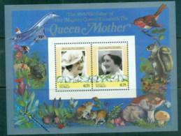 Tuvalu Nukefetau 1986 Queen Mother 85th Birthday $1.75 MS MUH - Tuvalu