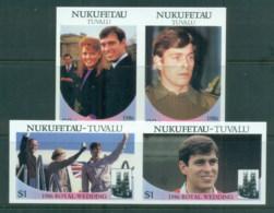Tuvalu Nukefetau 1986 Royal Wedding, Andrew & Sarah IMPERF MUH - Tuvalu