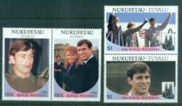 Tuvalu Nukefetau 1986 Royal Wedding, Andrew & Sarah MLH - Tuvalu